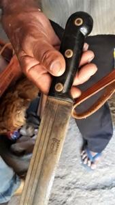 O lendário facão Corneta