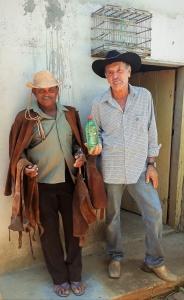 Tucho e Miguel. Foto: Paulo Oliveira