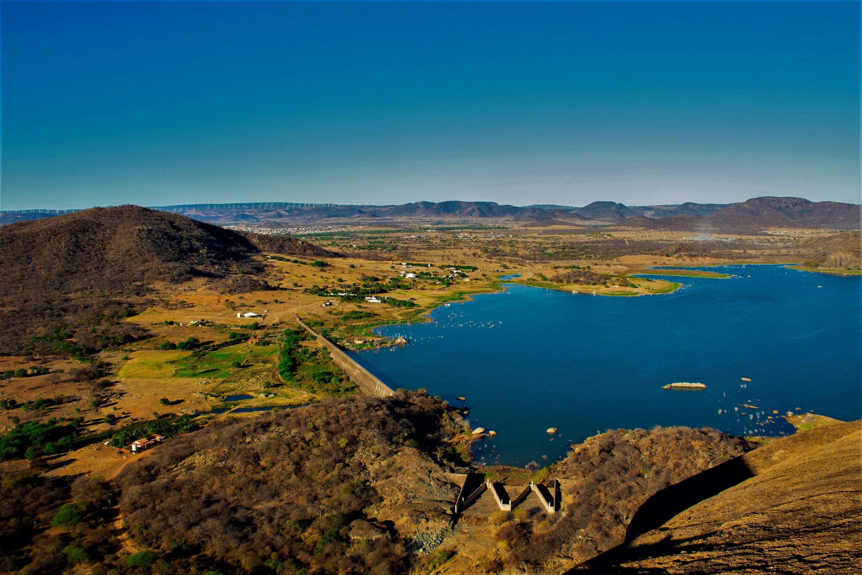 Barragem Poço do Magro. Foto: Lucas Lima