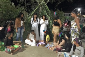 Menino Jesus na tribo. Foto: Divulgação