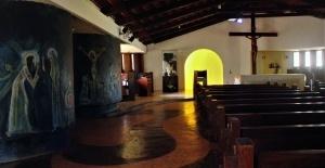 Interior da igreja. Foto: Paulo Oliveira