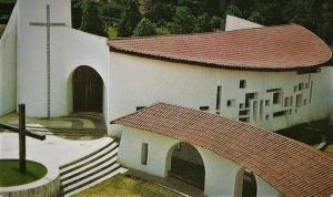 Vista da igreja Nossa Senhora Divina Pastora. Divulgação