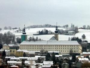Abadia de Schlierbach, Áustria. Reprodução