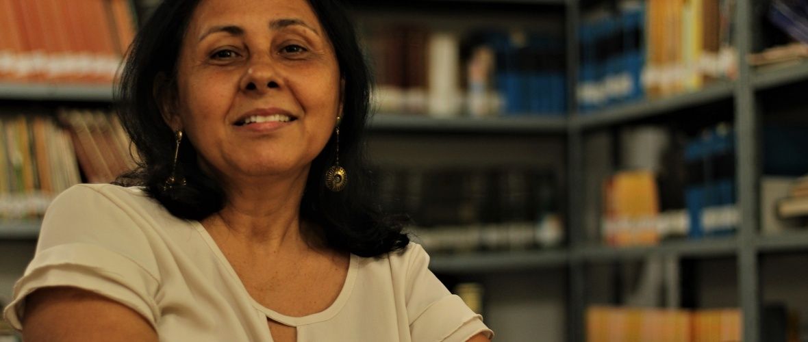 A historiadora Ana Nery Carvalho Silva. Foto: Paulo Oliveira