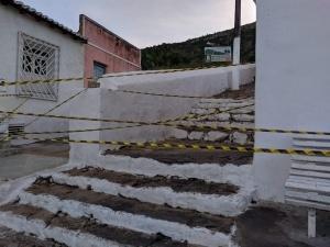 Acesso ao santuário foi interditado. Foto: Raimundo Venâncio Filho
