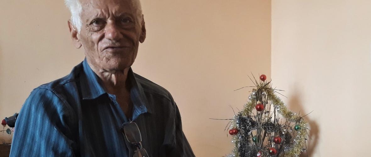 Antônio sobreviveu a um trágico acidente há cerca de 35 anos. Foto: Paulo Oliveira