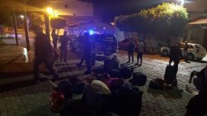 Passageiros que vieram de São Paulo para Monte Santo fizeram baldeação em Feira de Santana. Foto: Montesanto.net