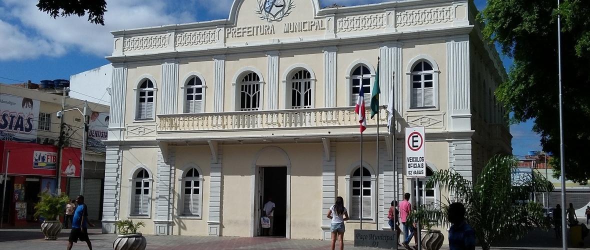 Prefeitura de Juazeiro. Foto: Paulo Oliveira