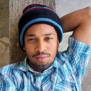 Caio, jovem sambador baiano, fascinado pelo estilo jacuipense de cantar. Reprodução do Facebook