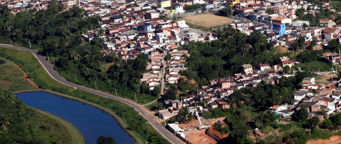 Vista aérea de Saúde. Foto:Guto Jads/divulgação