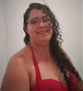 A cozinheira Selma Ribeiro criou o pastel gigante. Arquivo pessoal