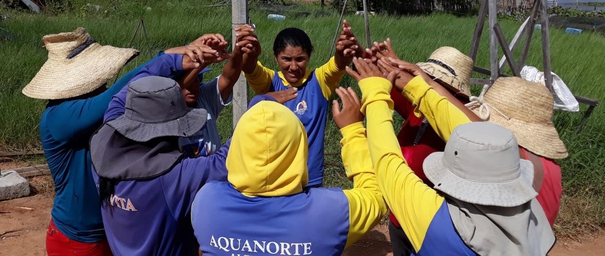 Mulheres da Associação São Sebastião do Sítio Umburanas. Foto: Paulo Oliveira