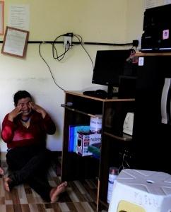 O choro de Ângela durante depoimento forte sobre como sua vida mudou. Foto: Severino Silva