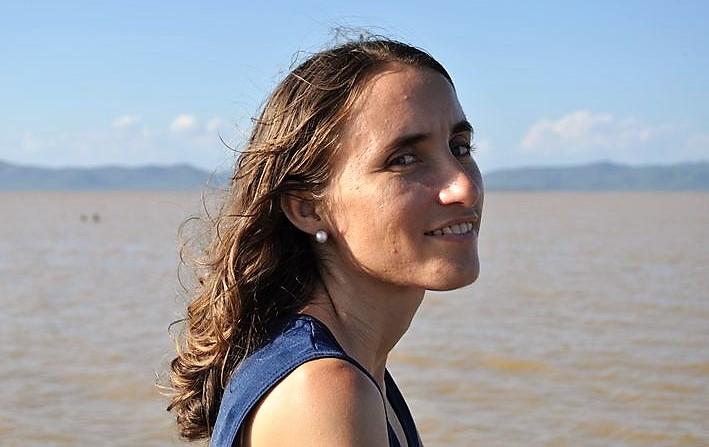 A jornalista e mestre em ecologia humana Adzamara Amaral. Arquivo pessoal