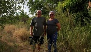 Padre Antonio e Ivone. Foto: Severino Silva