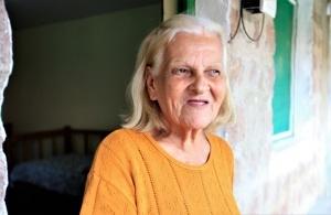 A carioca Diva Lopes Rodrigues é uma das internas do abrigo. Foto: Severino Silva