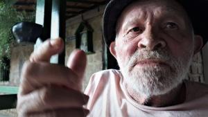 O poeta e cantador José Cosme de Lima, o Zé Galego, era maltratado pela ex-mulher. Foto: Paulo Oliveira