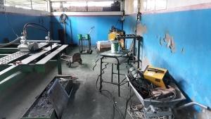 A oficina de soldas perdeu patrocínio e deixou de formar profissionais disputados pelo mercado. Foto: Paulo Oliveira