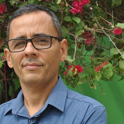 Franklin Carvalho, escritor. Reprodução da internet
