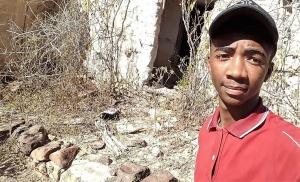 Samuel tem planos de obter ajuda para reflorestar a região. Foto: Turma 3 C