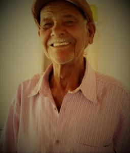 Seu Francisco Rocha, irmão de Amanda. Álbum de família