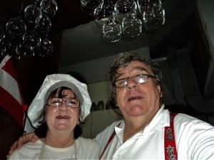 Reinhard e a esposa Maria Alice. Álbum pessoal