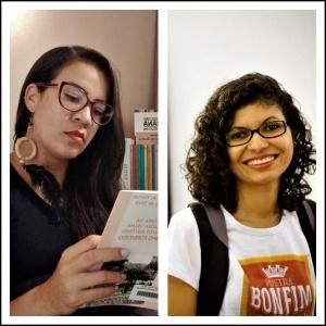 Kerollen e Adriana, criadoras do Podcast Calumbi. Divulgação