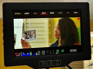 Making off do documentário sobre Maria Isabel para o prêmio Educadora Nota 10. Crédito: Ni Ribeiro