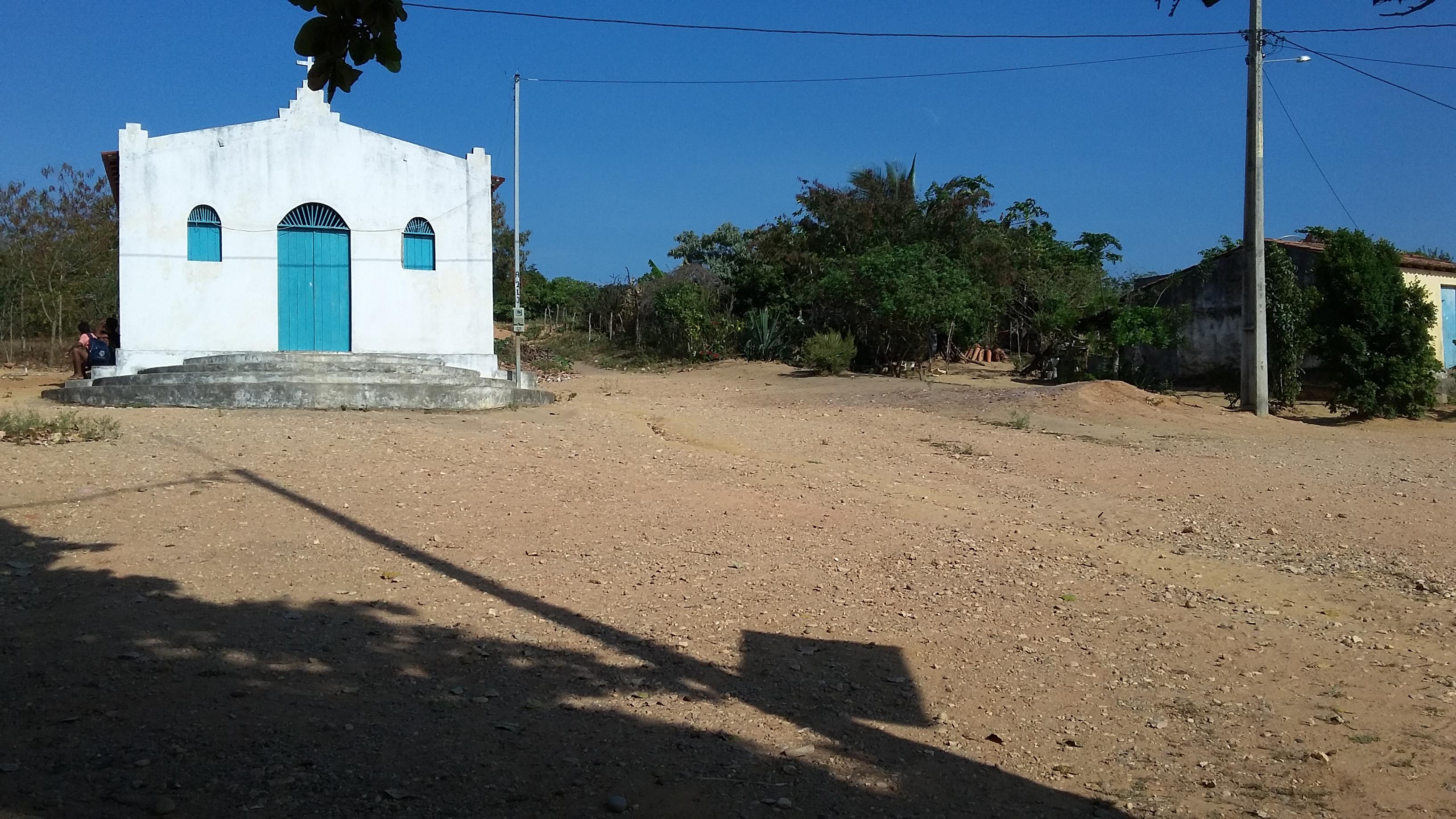 Igreja de Santo Antônio, padroeiro do quilombo. Foto: Paulo Oliveira
