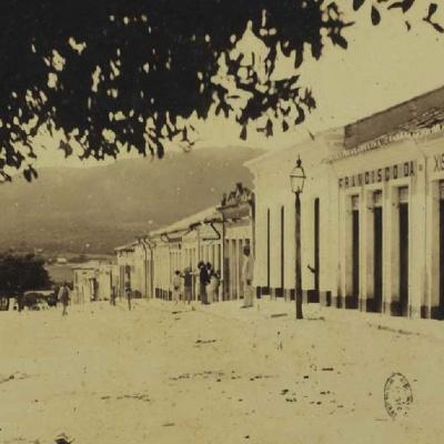 Praça José Gonçalves - 1910. Reprodução
