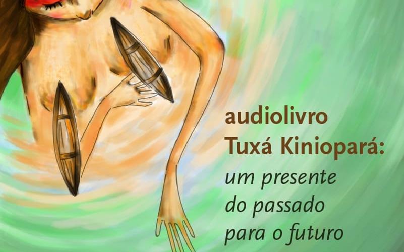 Capa do audiolivro. . Reprodução