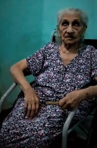 Dona Carmem, 101 anos. Reprodução do Facebook
