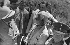 Visita do presidente Getúlio Vargas a Canudos, em 1940. Foto: Agência Nacional