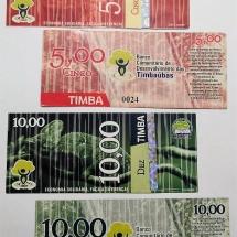 O Timba, moeda social de Juazeiro do Norte (CE), deixou de circular porque o banco que lhe dava lastro fechou. Reprodução
