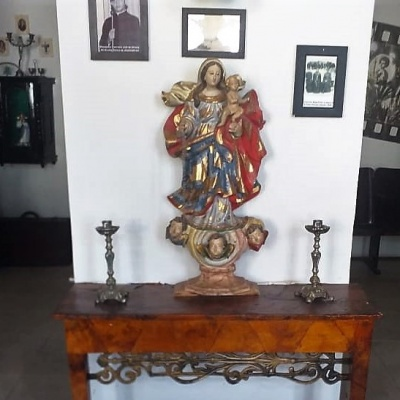 Vaqueiro, arte sacra e cinema. Centro cultural de Jeremoabo. Foto: Flávio Passos